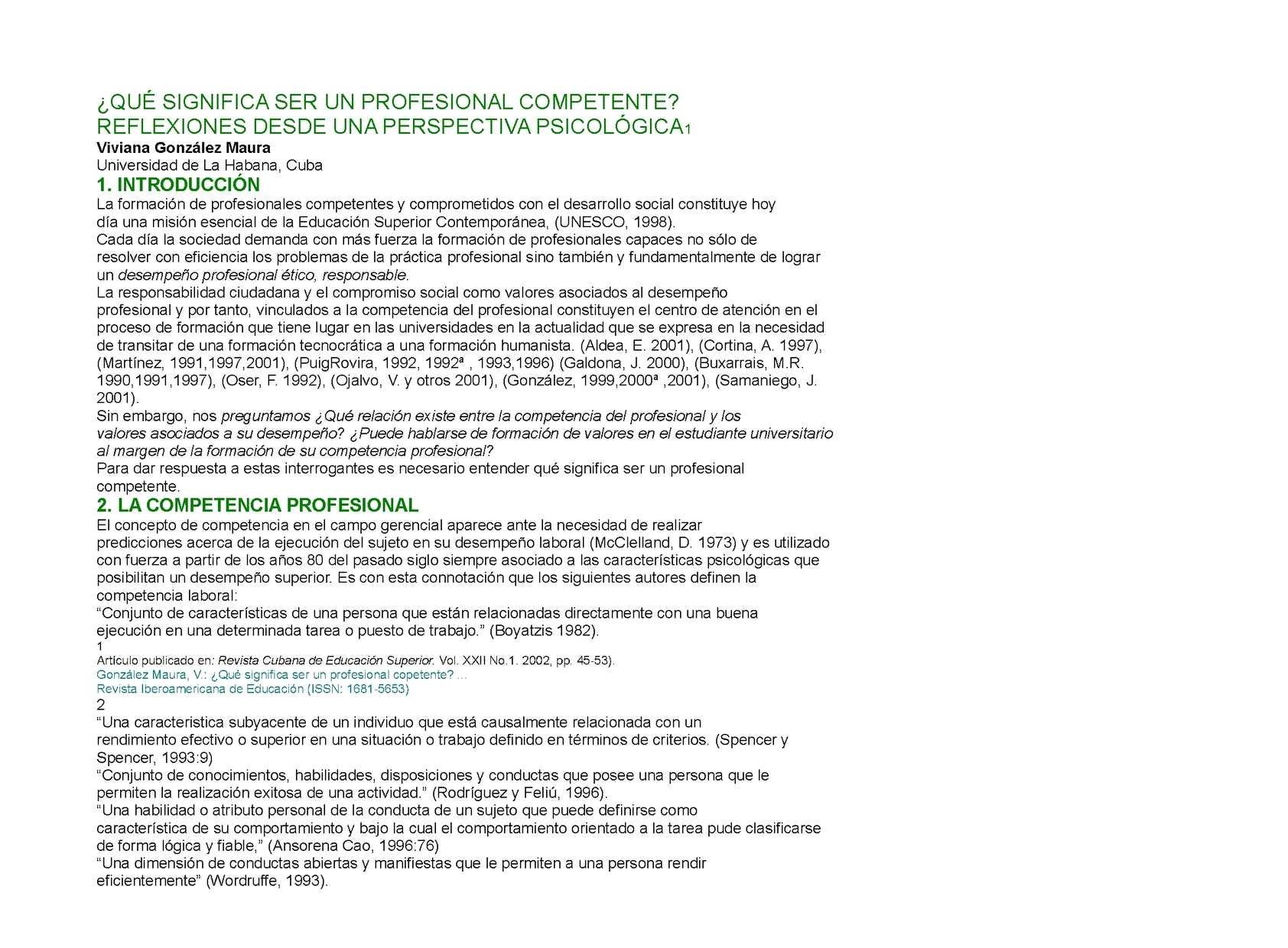 Calam o qu significa ser un profesional competente for Arquitectura para la educacion pdf