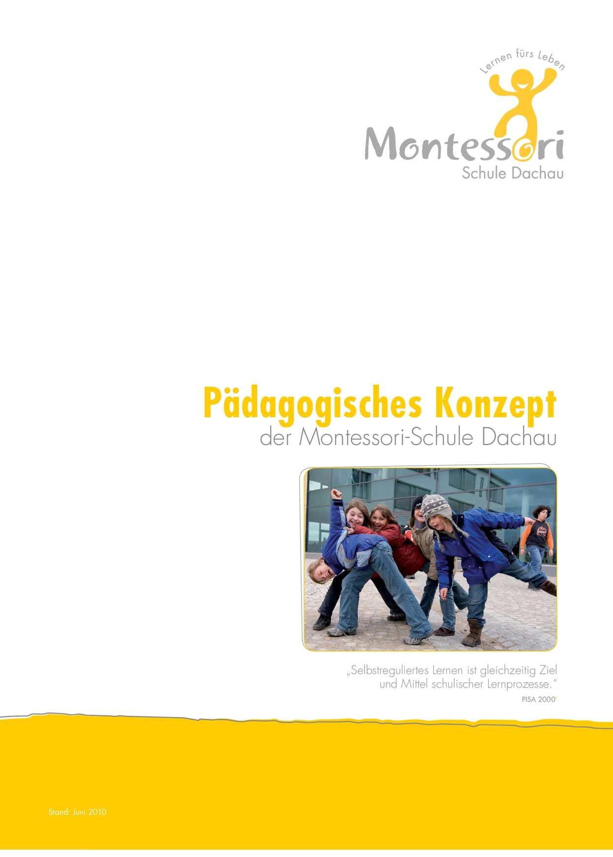 Calaméo - Pädagogisches Konzept der Montessorischule Dachau