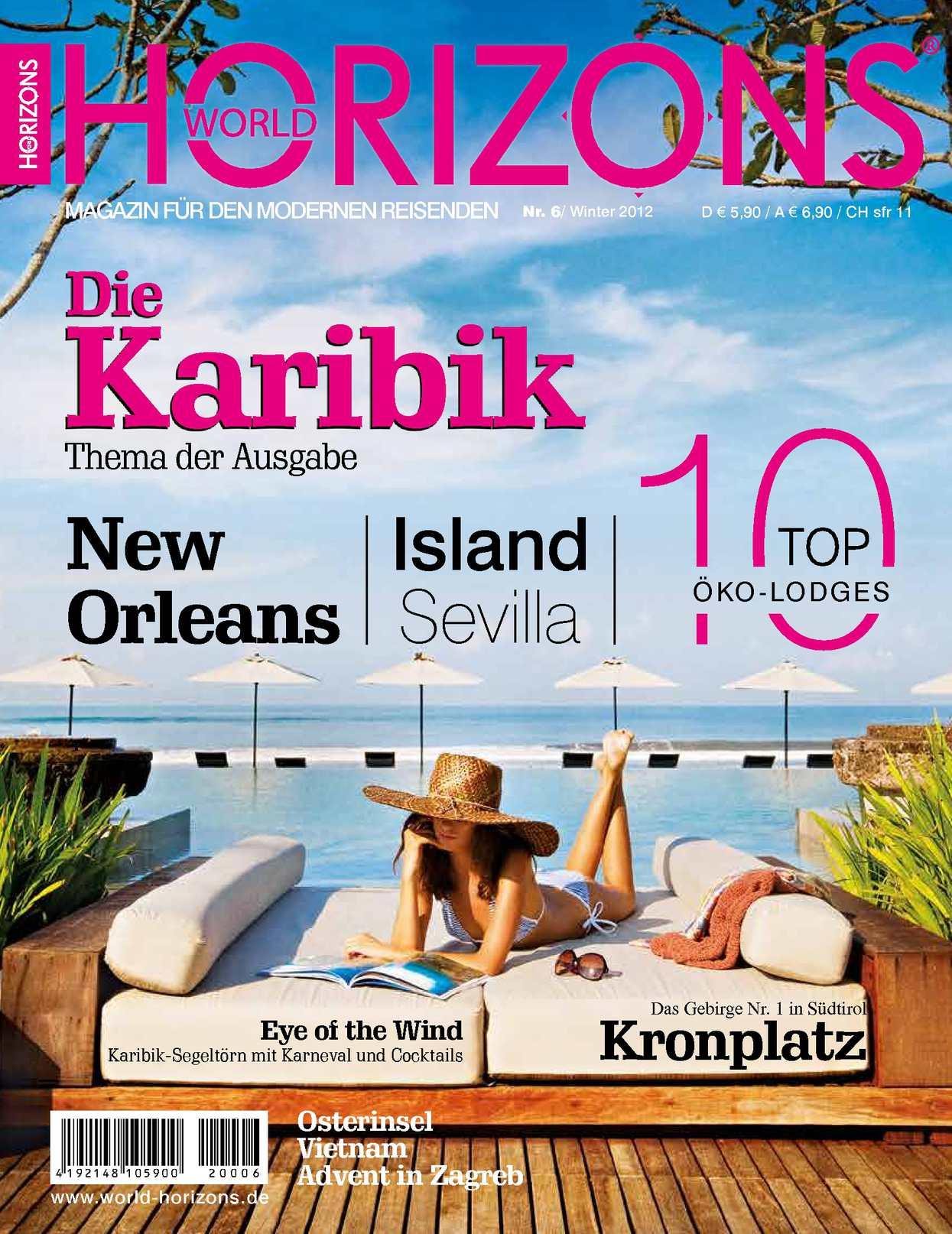 WORLD HORIZONS No. 6