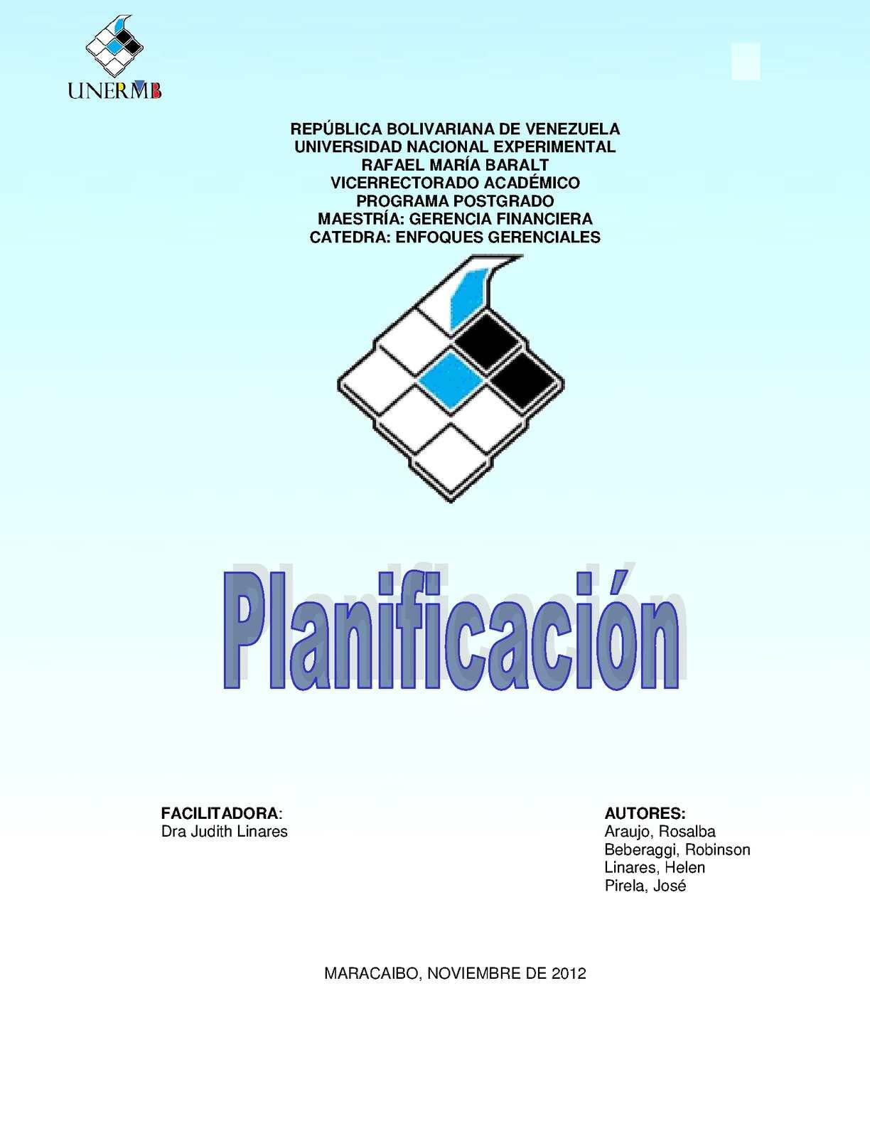 Calaméo - Planificación-Enfoques Gerenciales