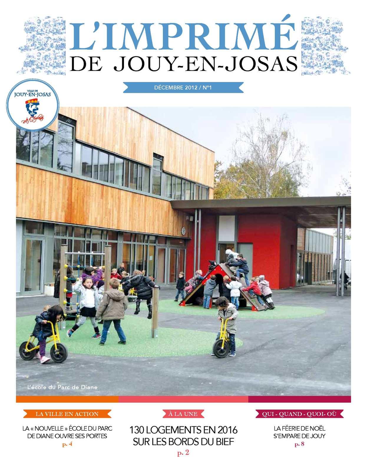 Calam o l 39 imprim de jouy en josas n 1 d cembre 2012 for Garage jouy en josas