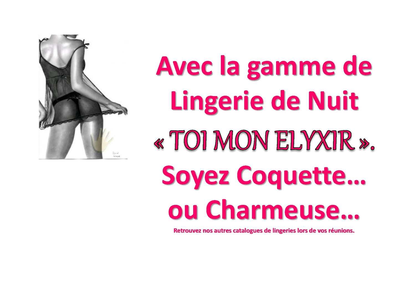 Catalogue Lingerie 2012-2013