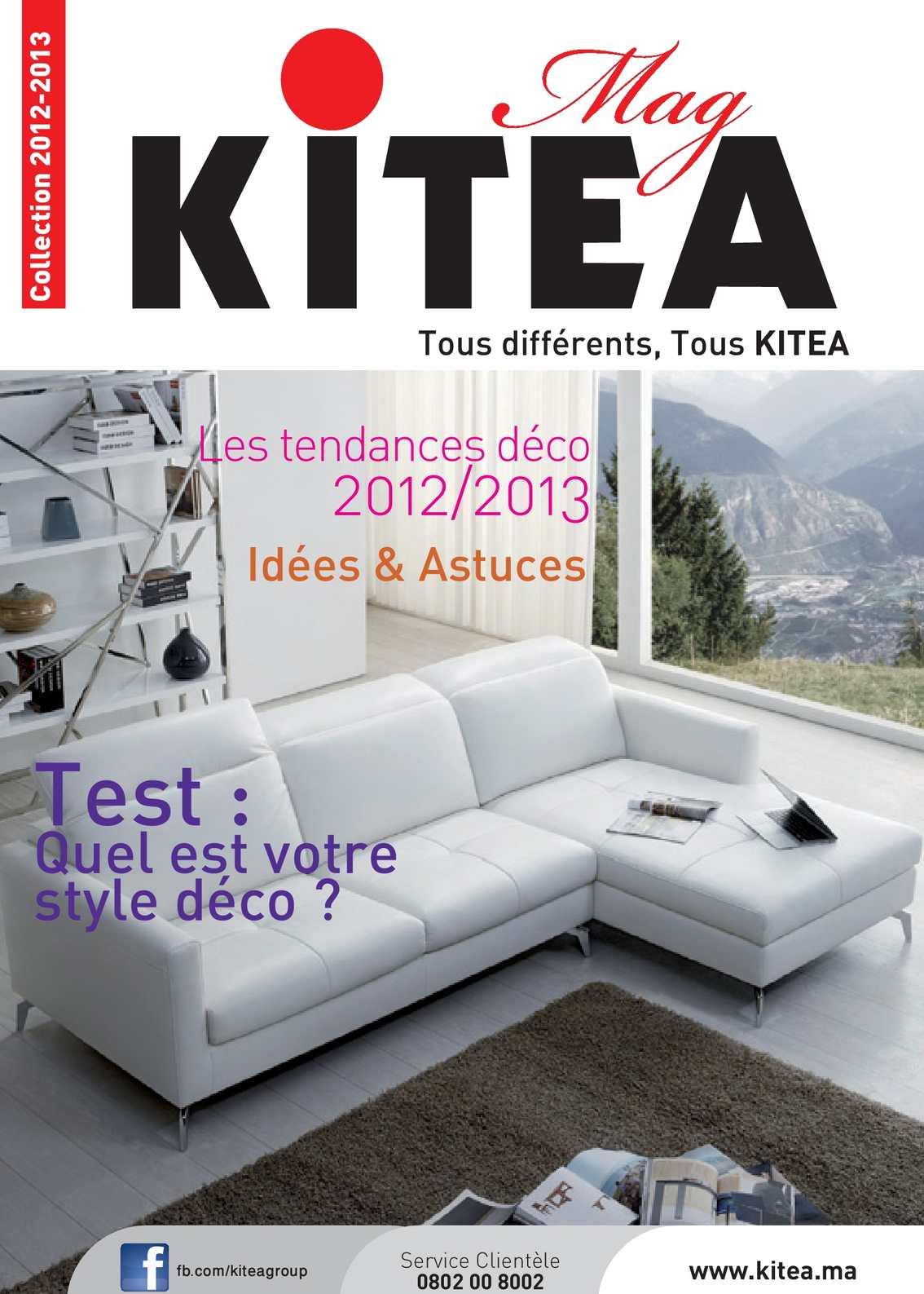 Calam o kitea mag collection 2012 2013 for Le mag deco canape