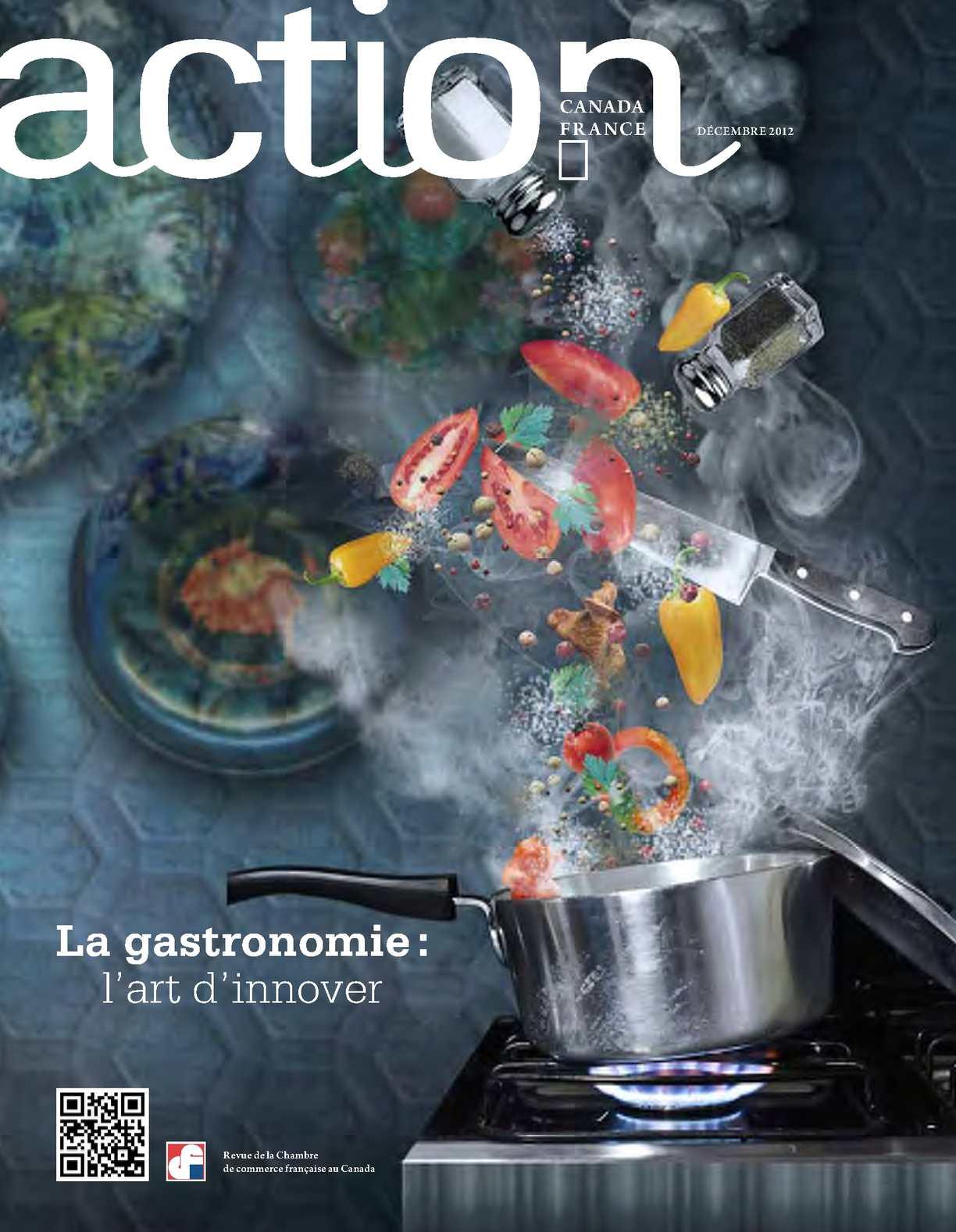 Calam o la gastronomie l 39 art d 39 innover for Chambre de commerce francaise au canada