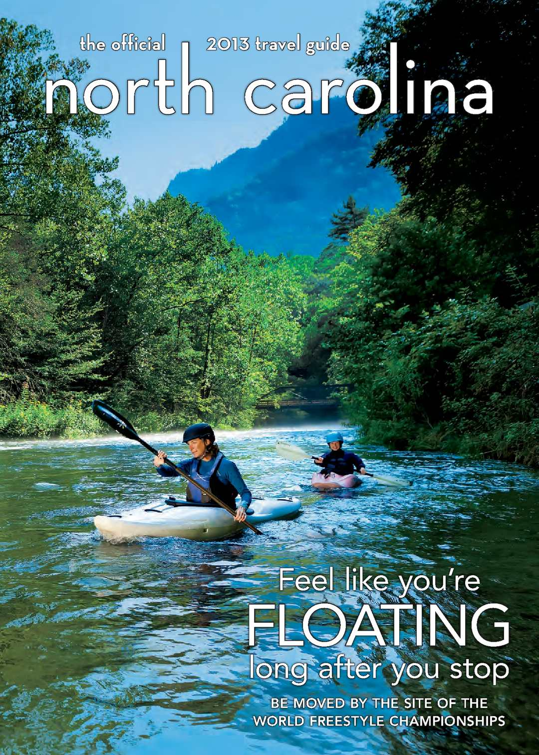 Calamo 2013 Official North Carolina Travel Guide Natural 100 Top Imperial Topaz 1427