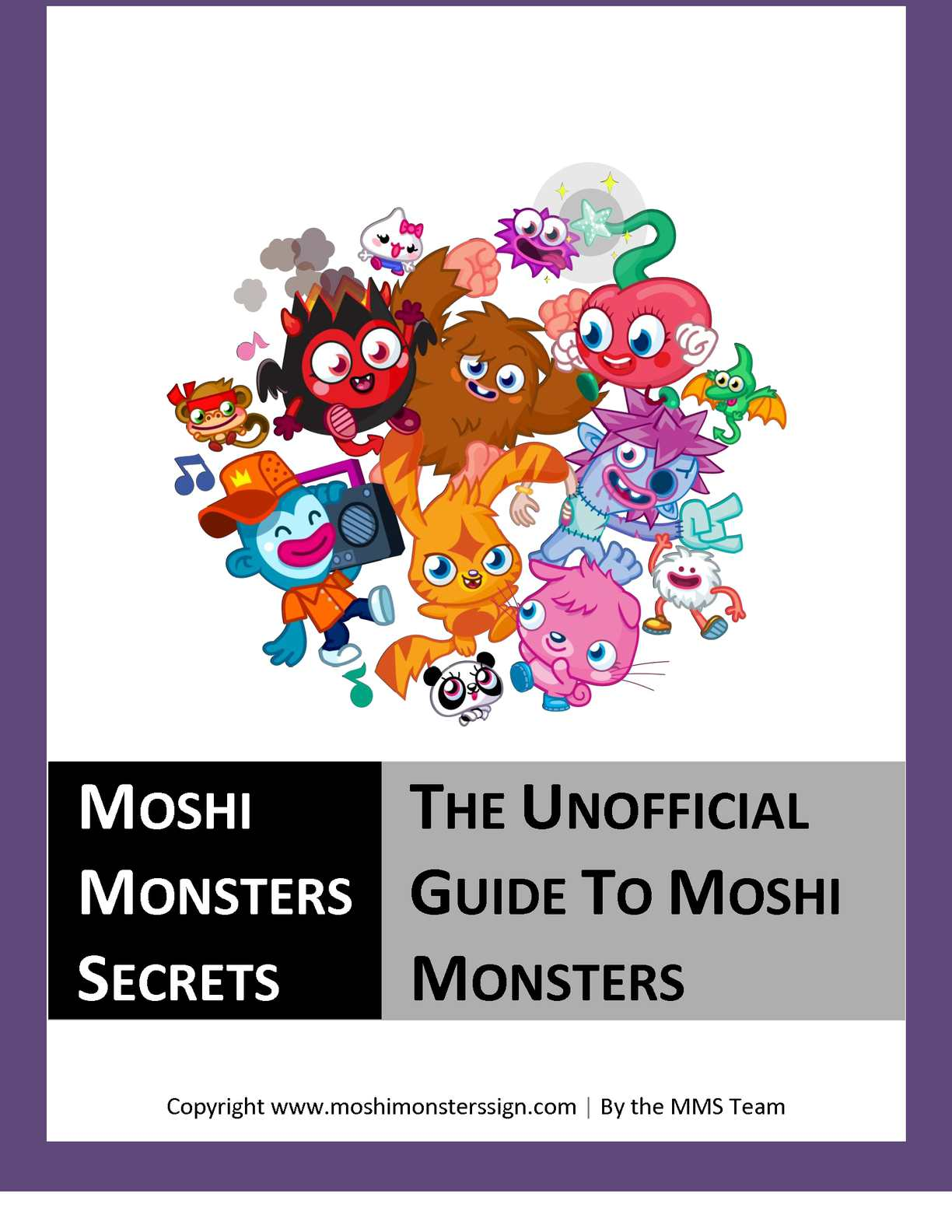 Moshi Monsters Sign In  Guide