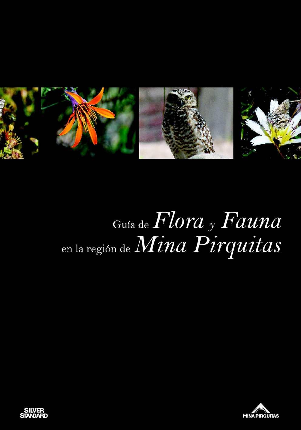Guía de Flora y Fauna en la Región de Mina Pirquitas
