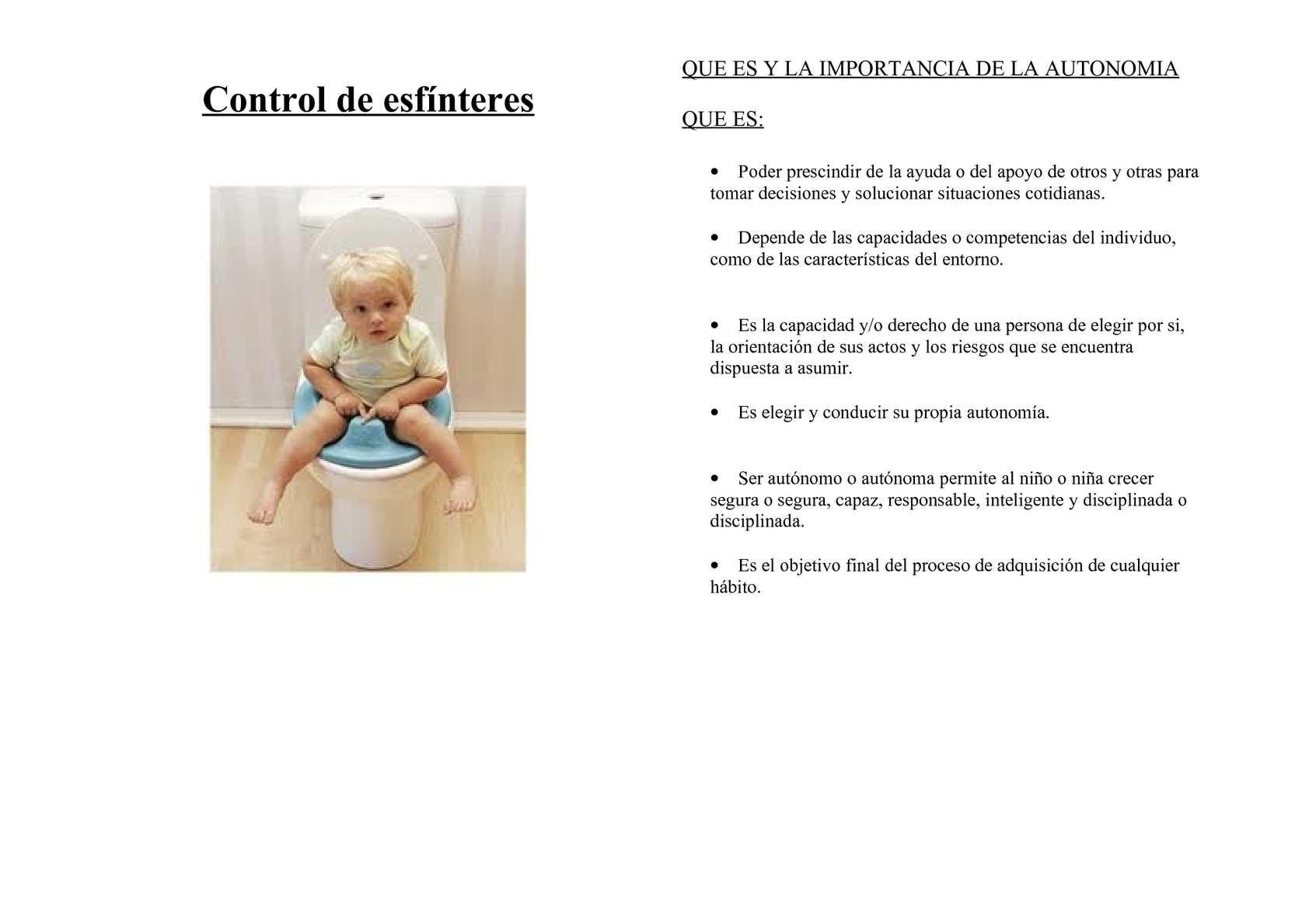 Calaméo - EL CONTROL DE ESFINTERES