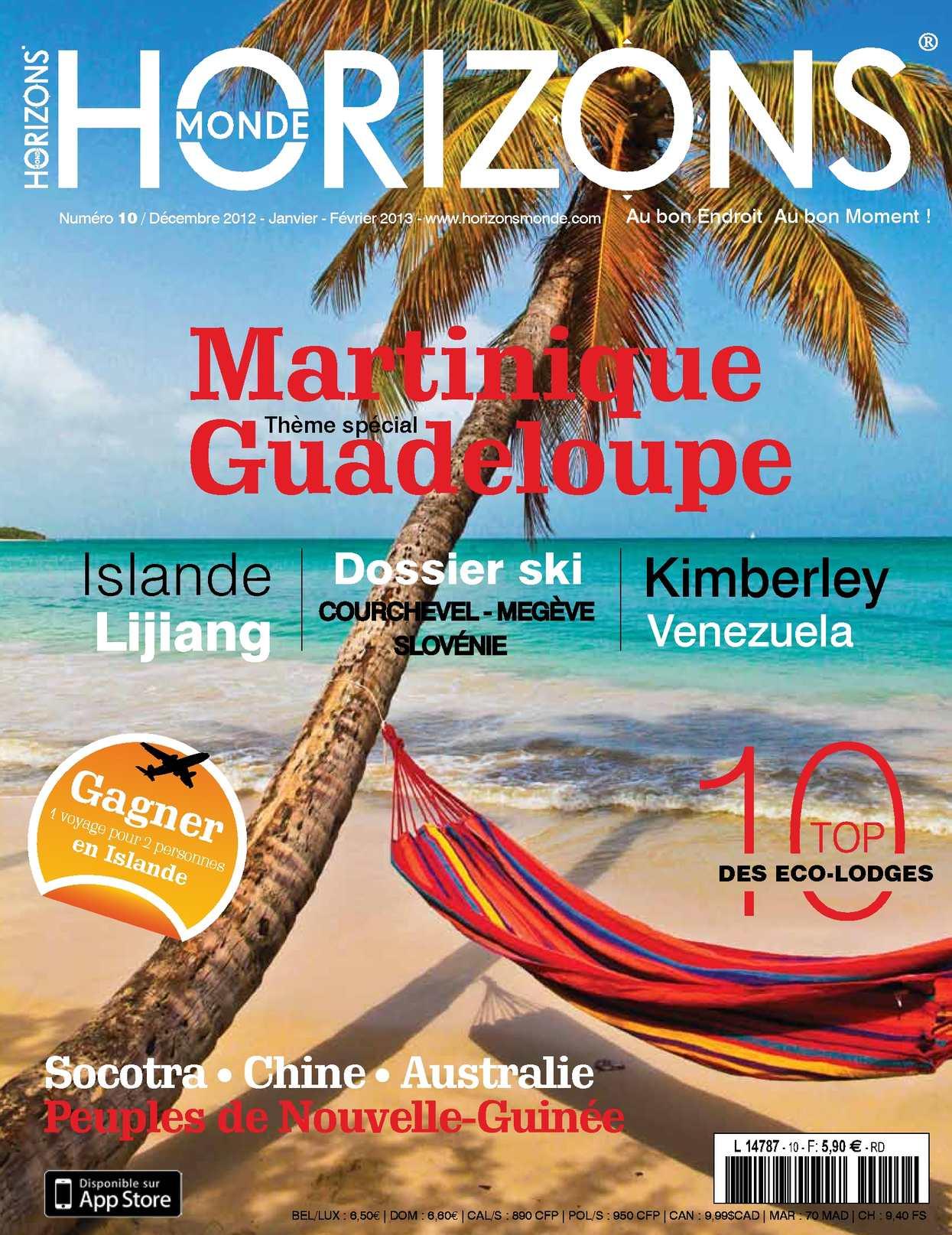 HORIZONS MONDE N°10 hiver 2012/2013