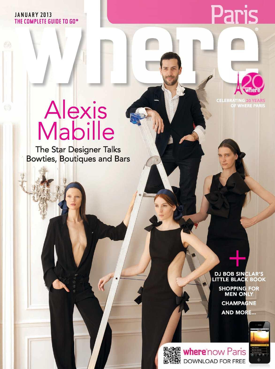 Calaméo - Where Paris Magazine - January 2013 8bc946c0aed2
