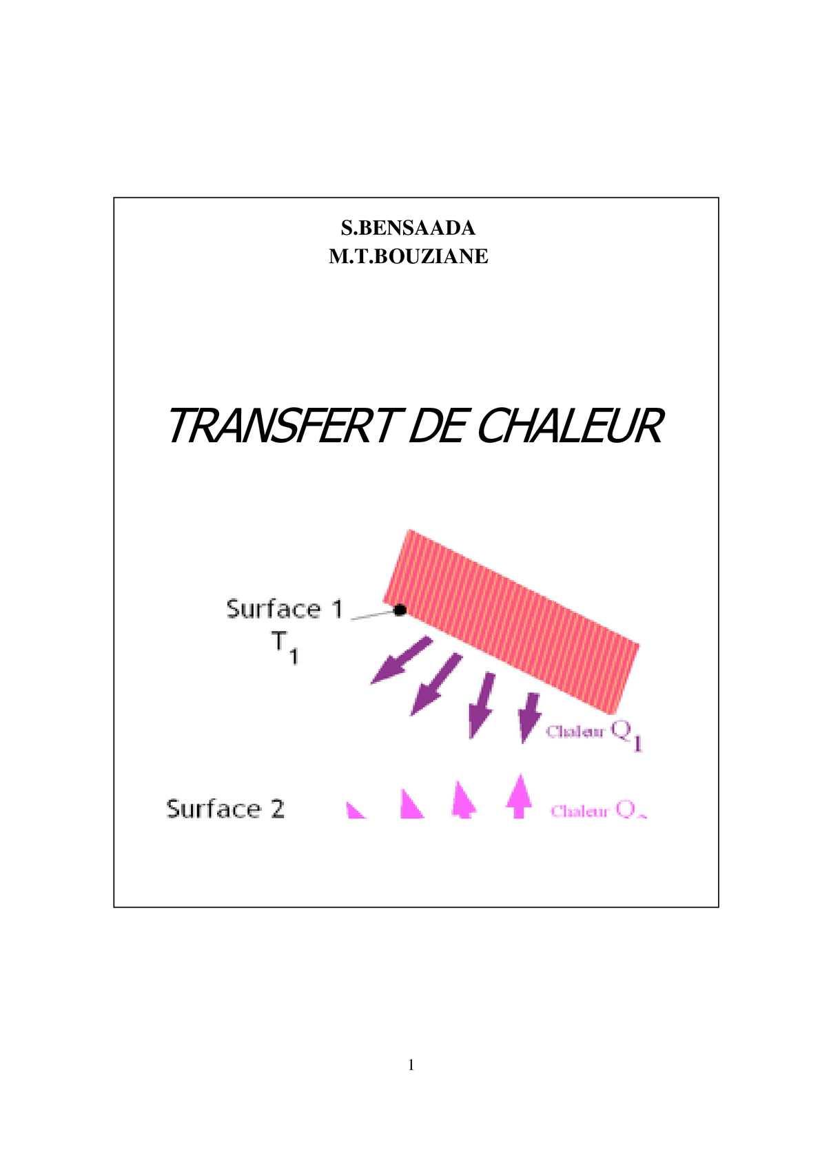 Calam o transfert de chaleur - Coefficient de conduction thermique ...