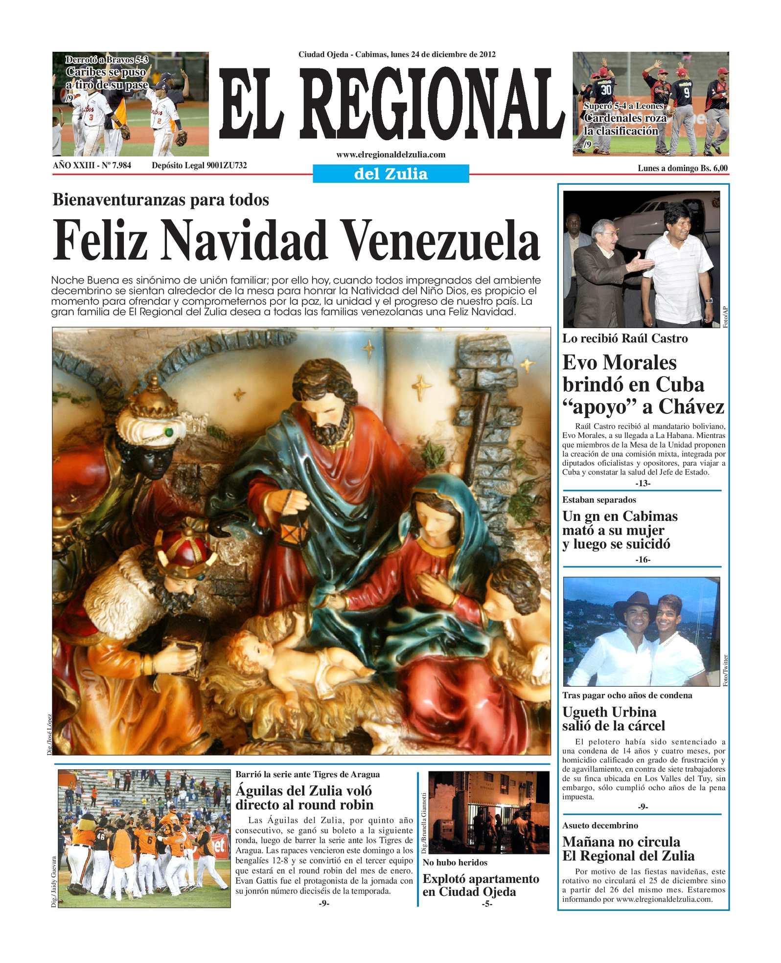 Calaméo - El Regional del Zulia 24-12-2012