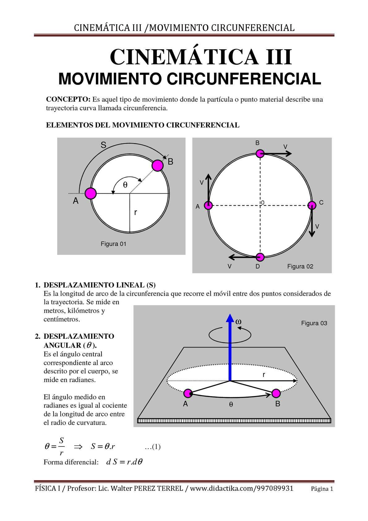 Calaméo - MOVIMIENTO CIRCUNFERENCIAL