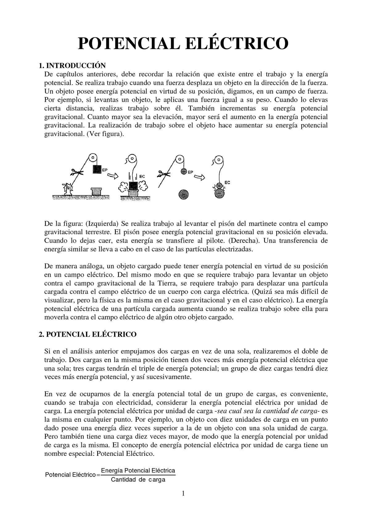Calaméo - POTENCIAL ELÉCTRICO EN UN PUNTO DEL CAMPO