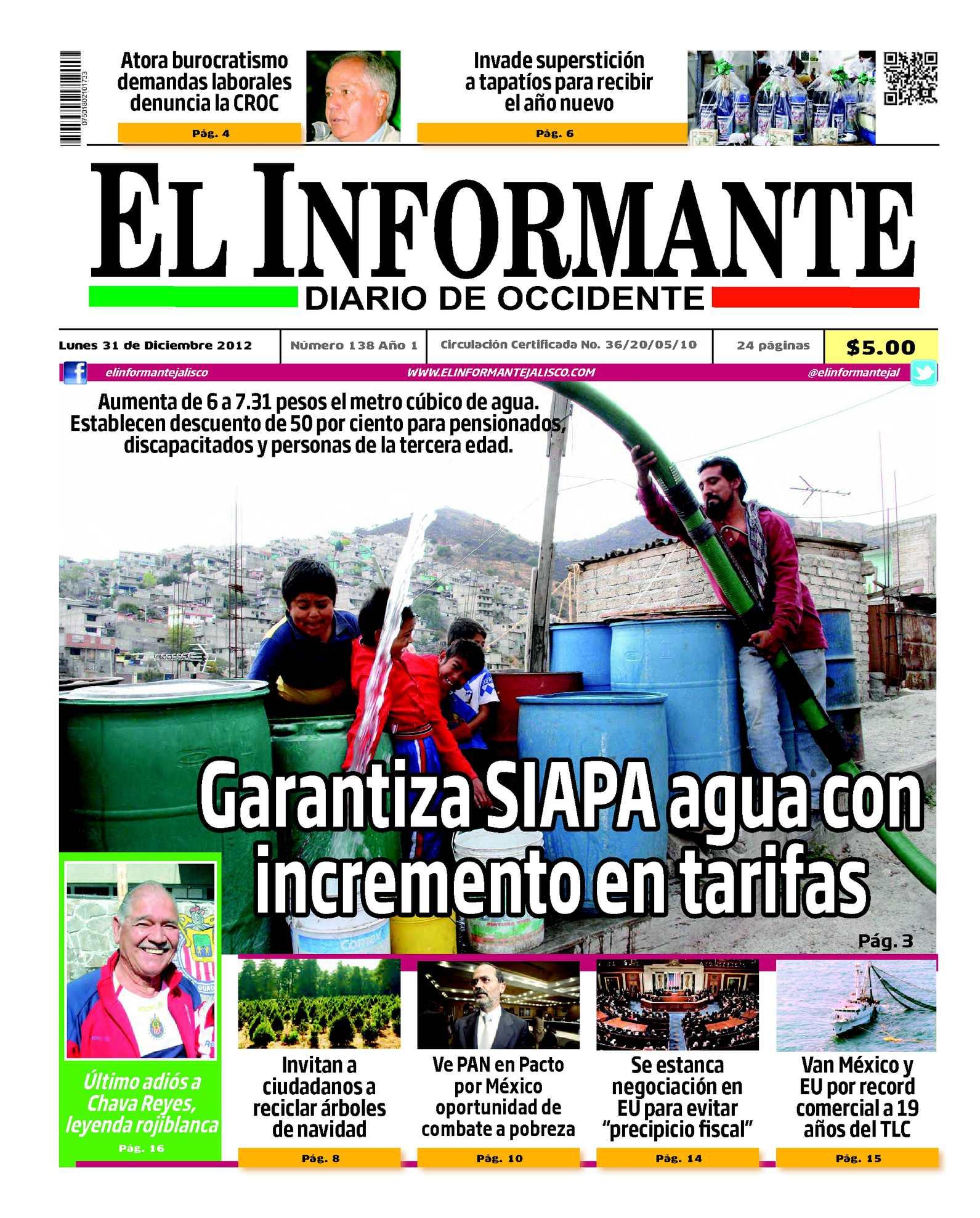 Calaméo - El Informante 31 de diciembre 2012