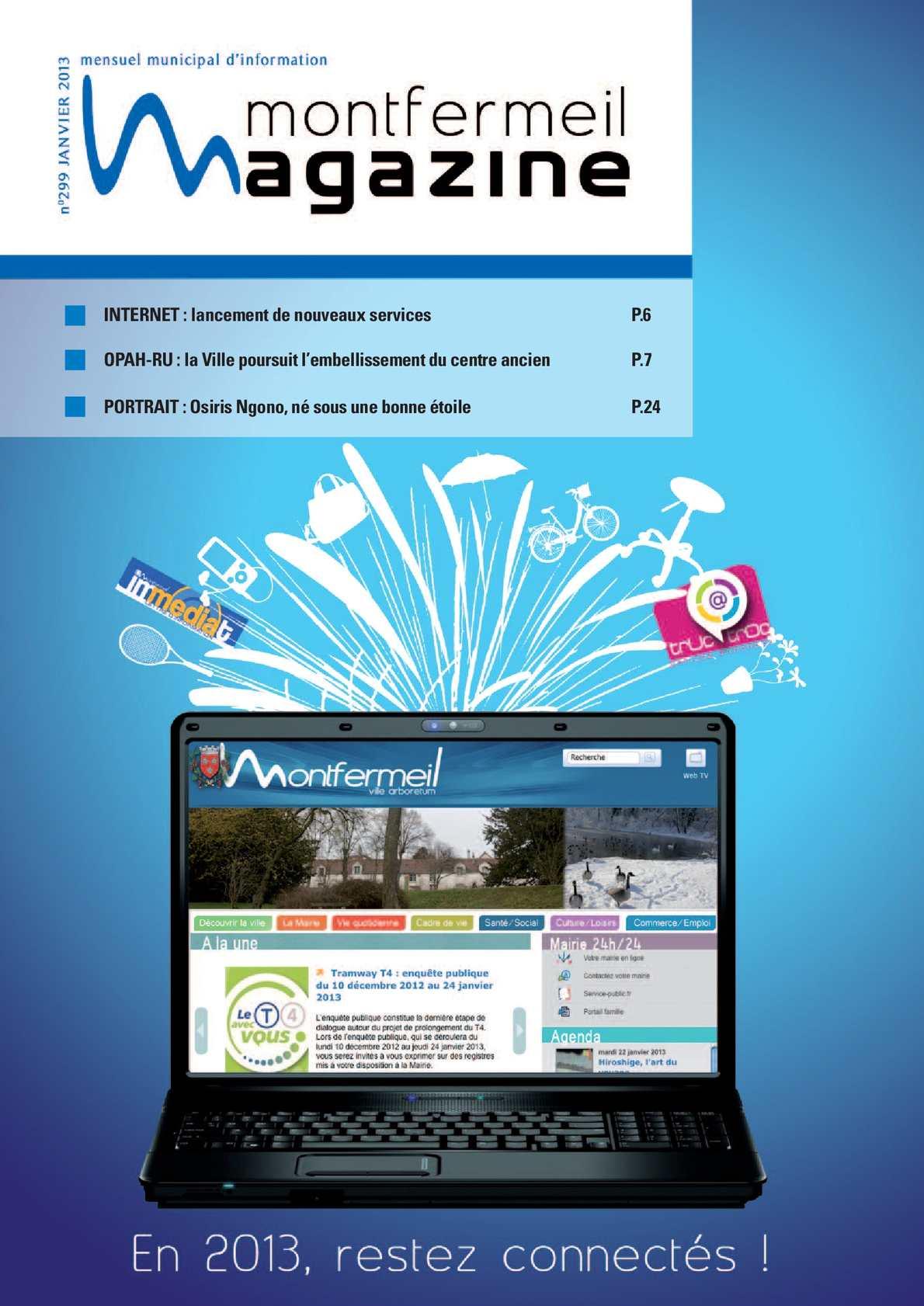 Calam o magazine de la ville de montfermeil janvier 2013 for Garage pascal montfermeil