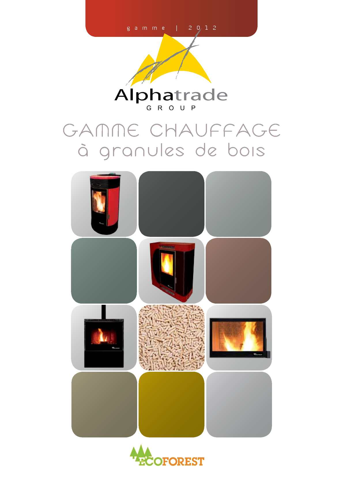 calam o alphatrade group gamme chauffage granules de bois ecoforest. Black Bedroom Furniture Sets. Home Design Ideas