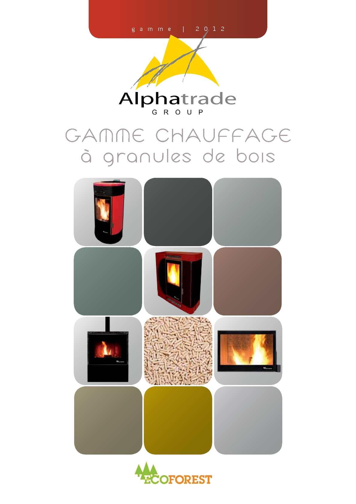 Calam o alphatrade group gamme chauffage granules de - Chauffage a granule ...