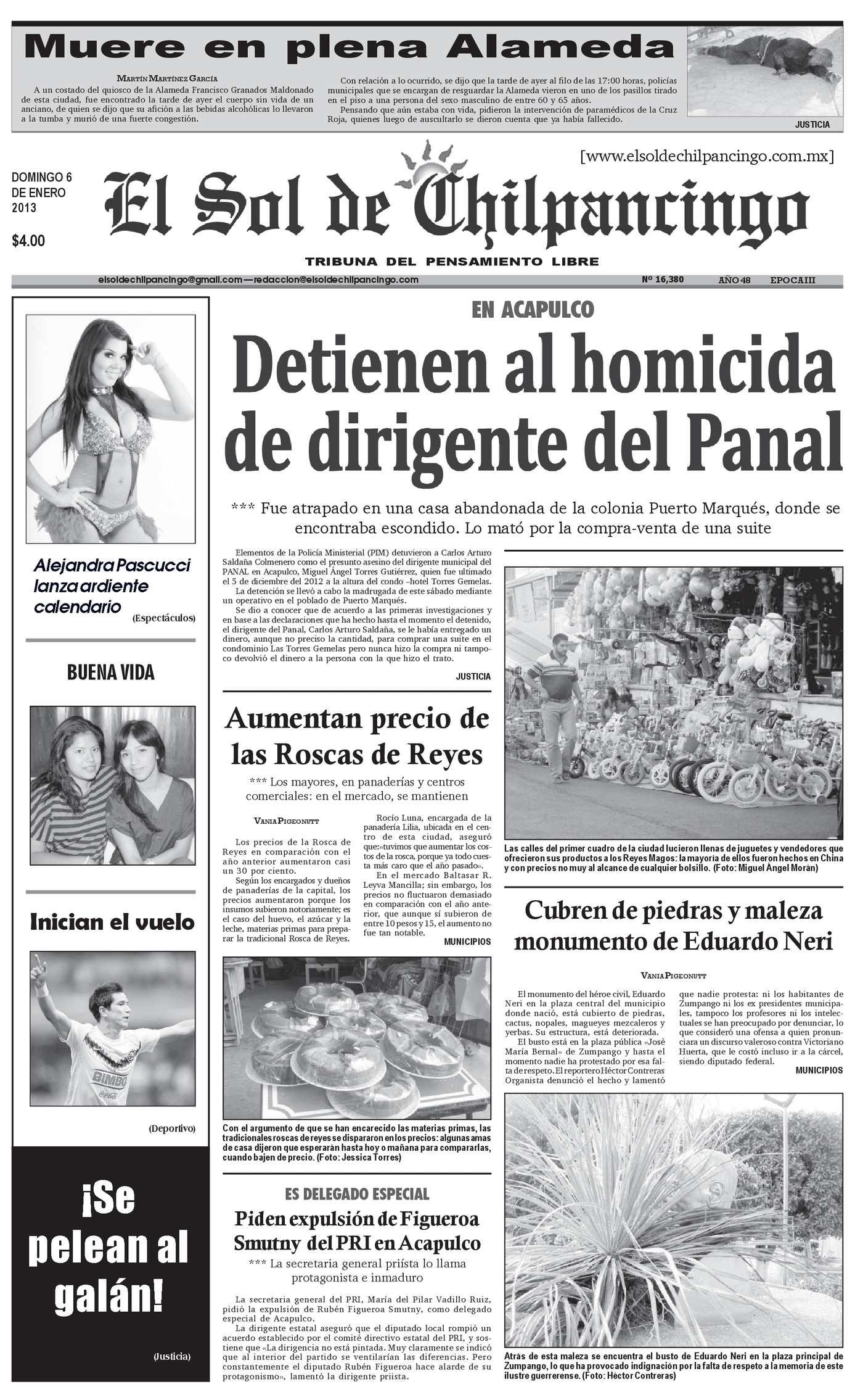 Calaméo - El Sol de Chilpancingo - 06 Enero 2013