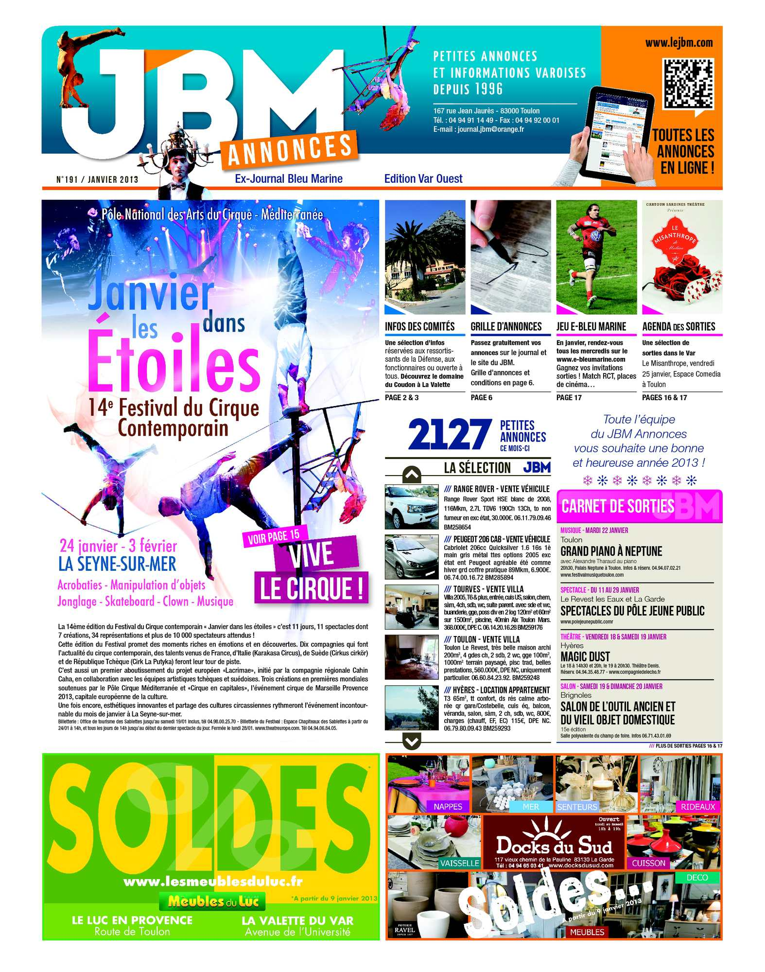 Calaméo Journal Bleu Marine n°191 Janvier 2013