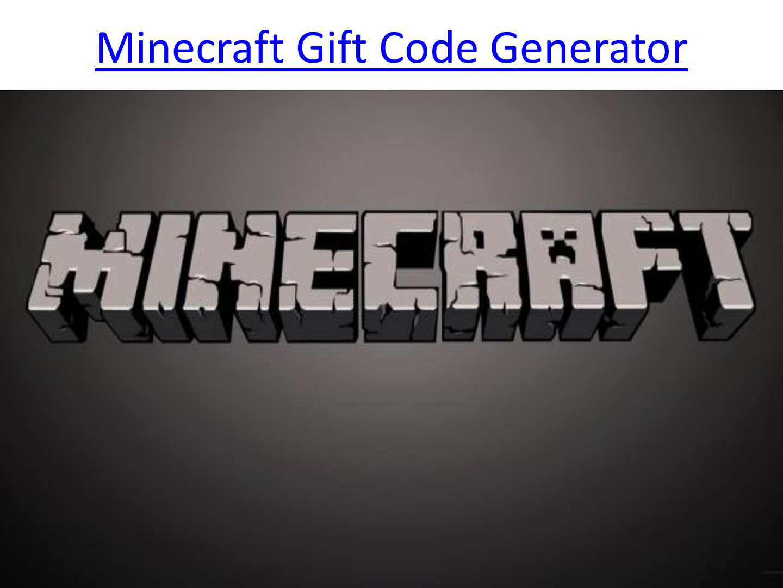 Minecraft Gift Code Generator DLC