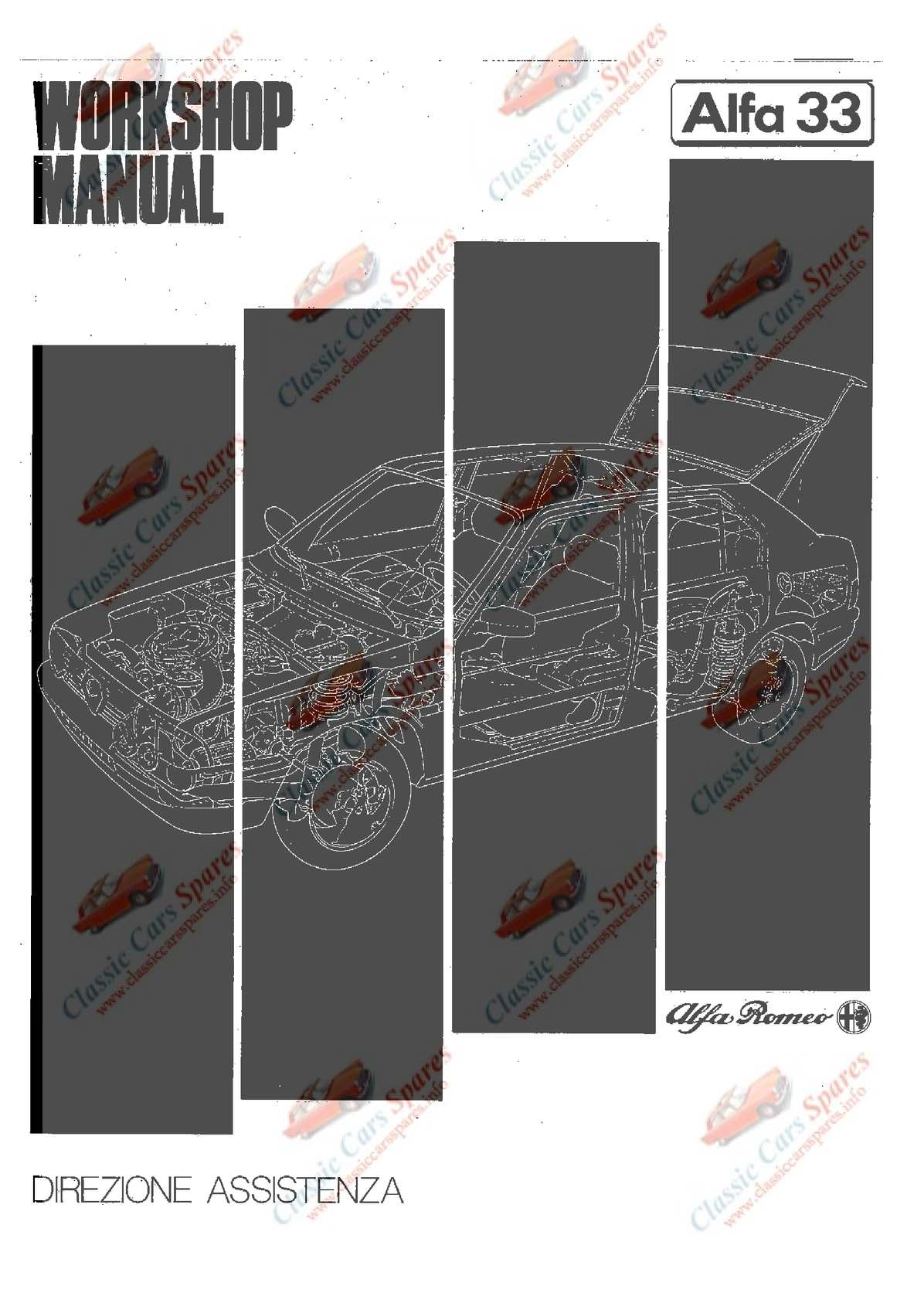Calamo 1983 Alfa Romeo 33 Workshop Manual Ignition Timing