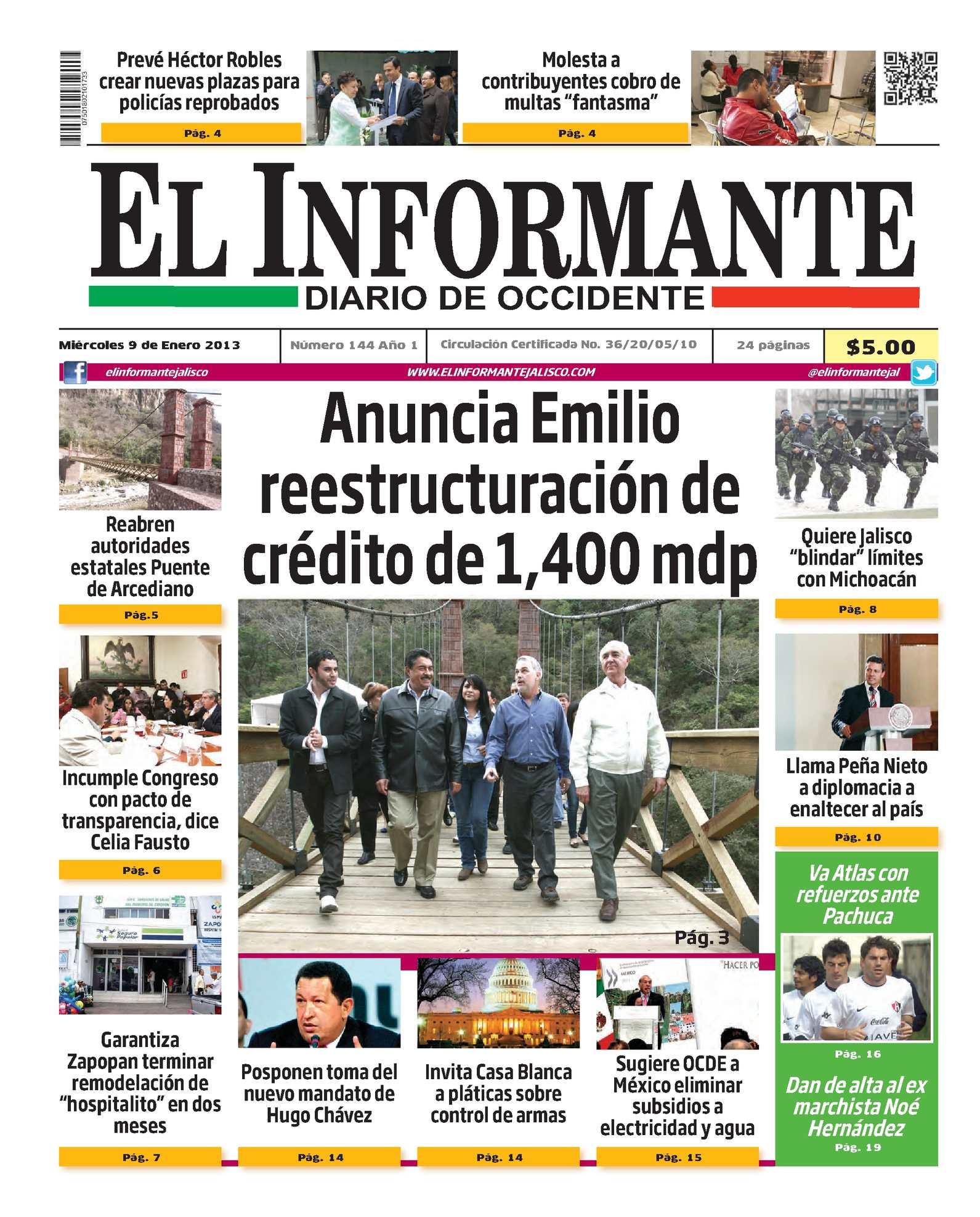 Calaméo - El Informante 9 de enero 2013