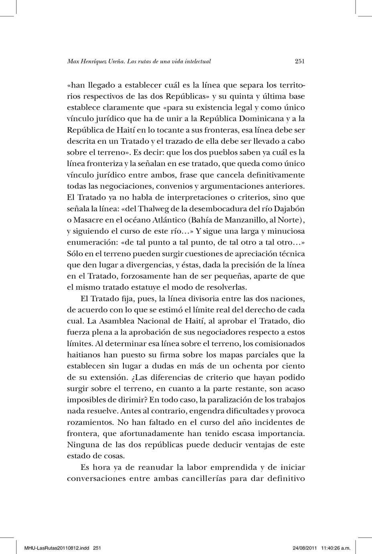 Calaméo - Vol 140. Las rutas de una vida intelectual parte 2 pg:251 ...