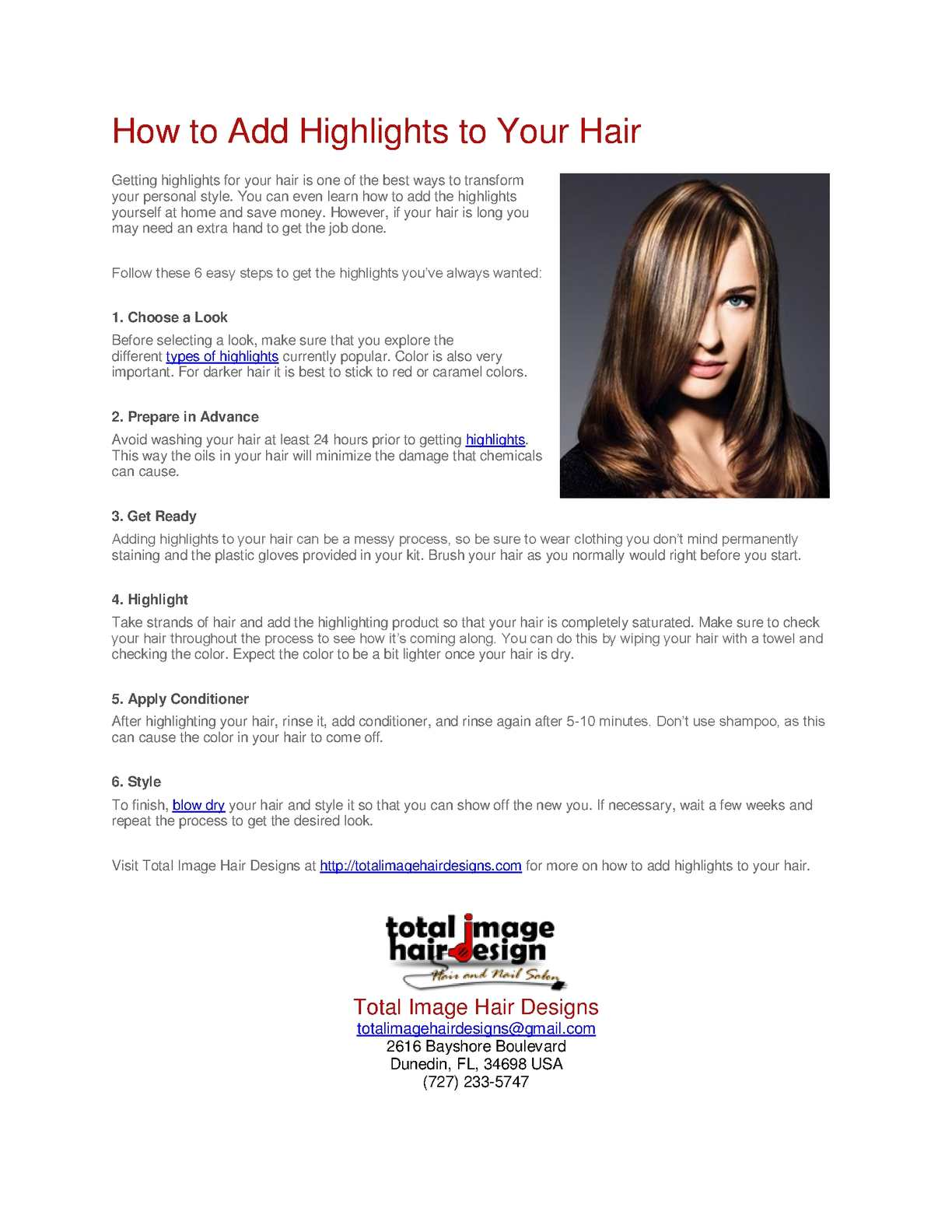 Calamo how to add highlights to your hair solutioingenieria Choice Image