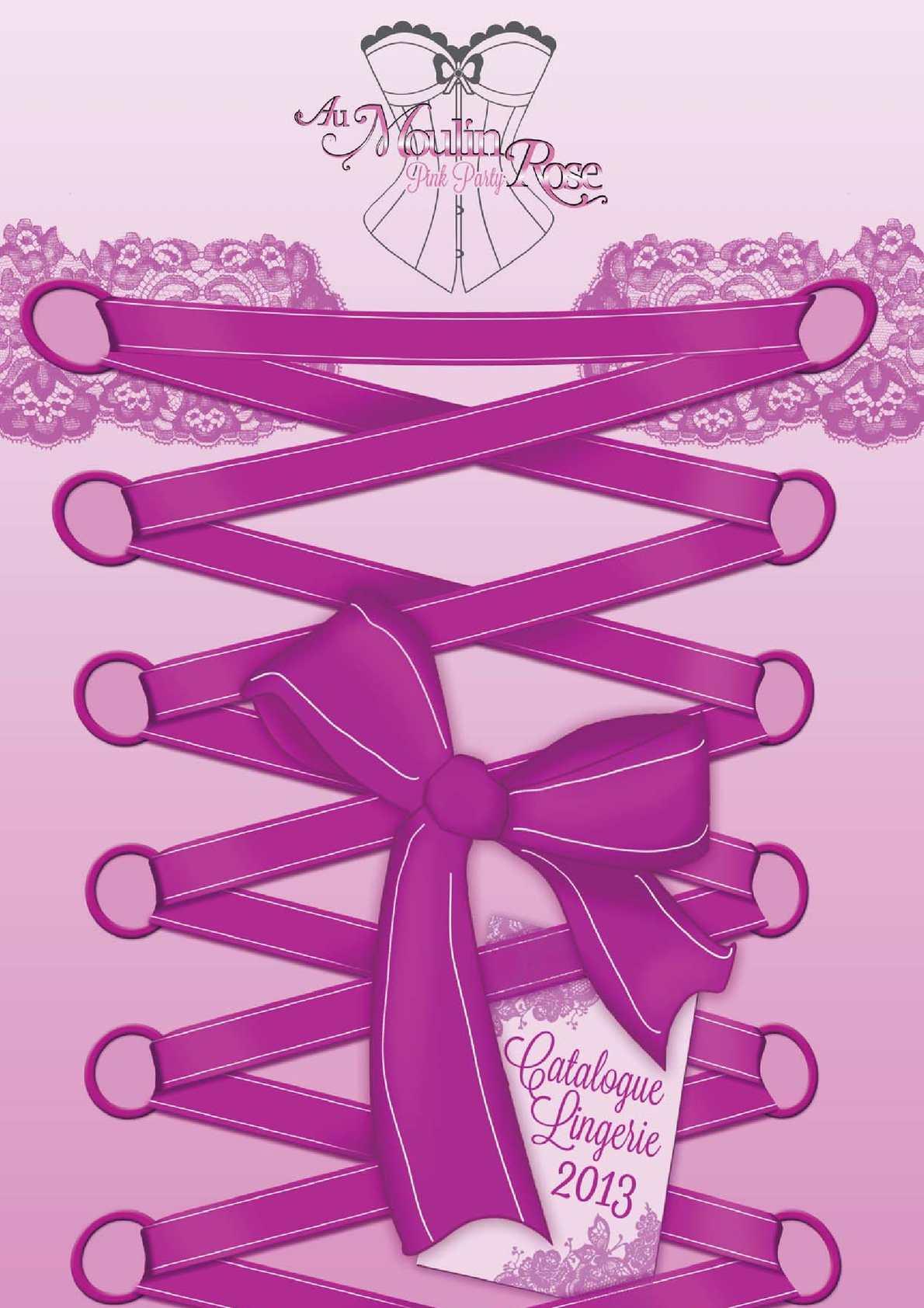 Catalogue Lingerie 2013