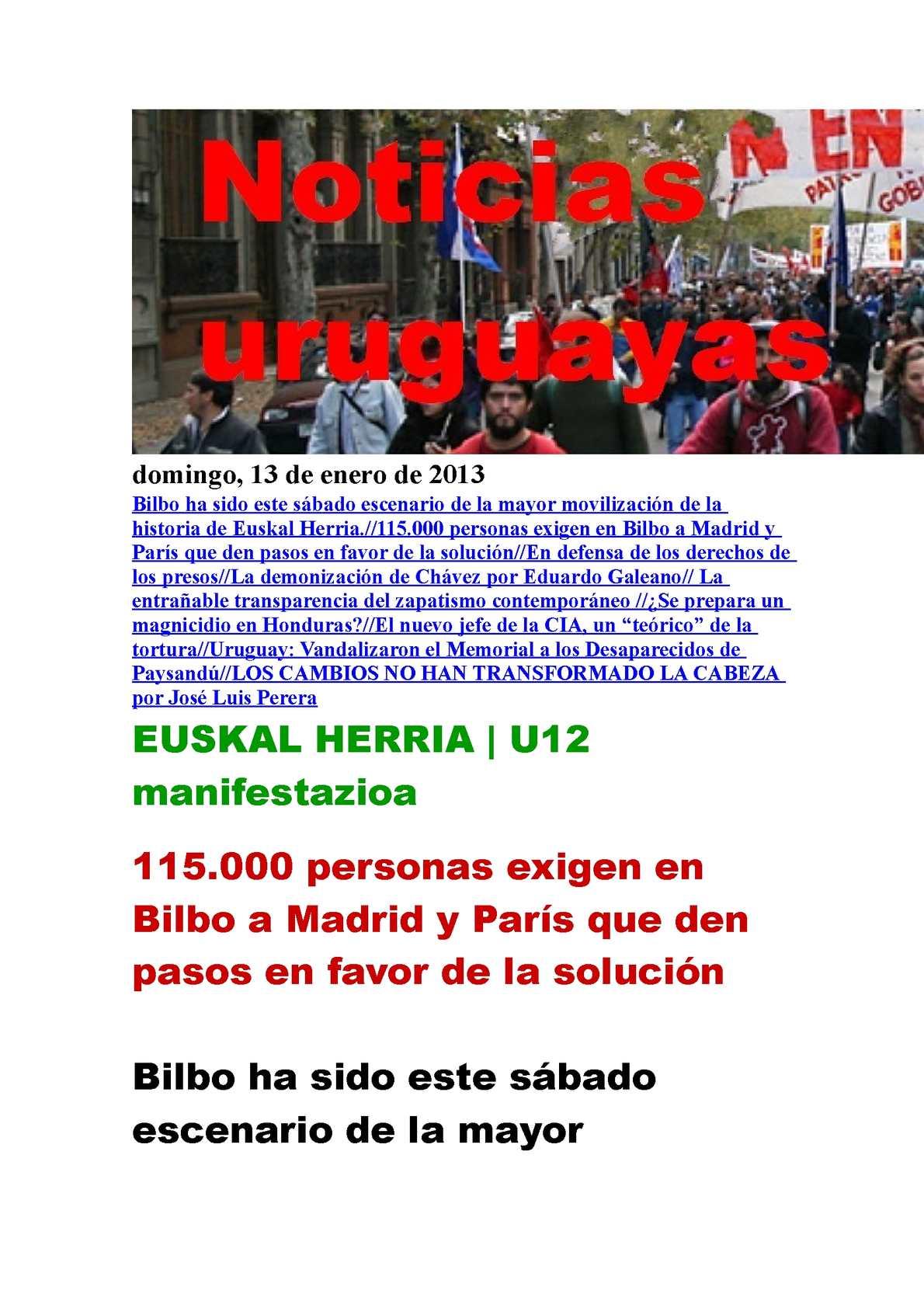 Calaméo - Noticias Uruguayas domingo 13 de enero del 2013