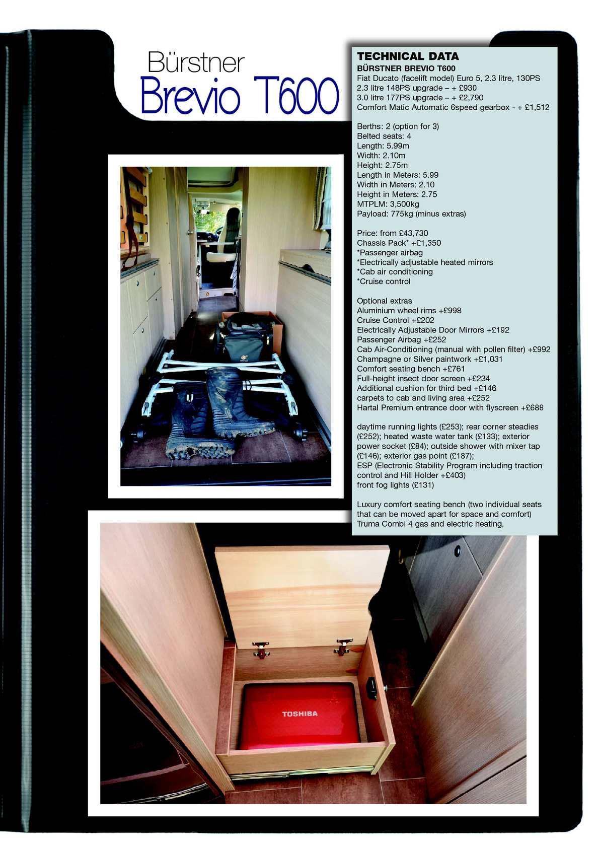 Feb 2013 motorhome campervan calameo downloader page 47 fandeluxe Gallery