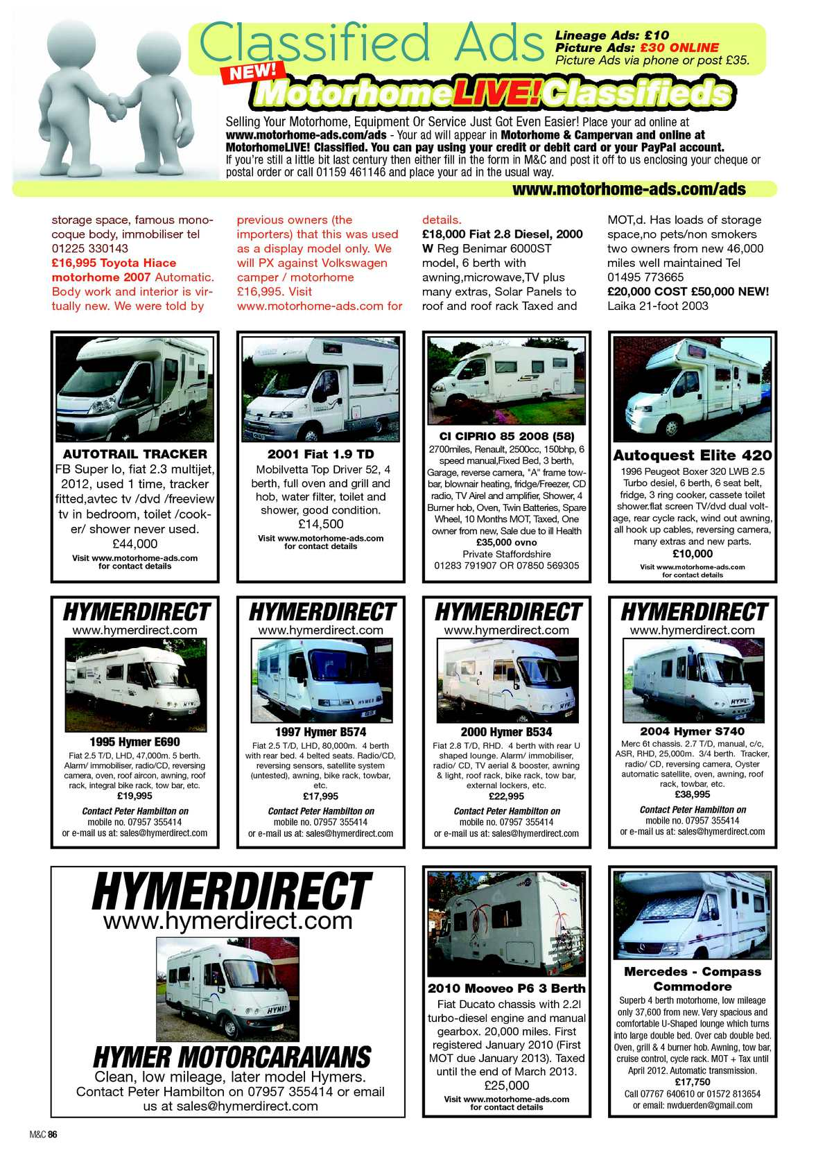 Feb 2013 motorhome campervan calameo downloader page 88 fandeluxe Gallery