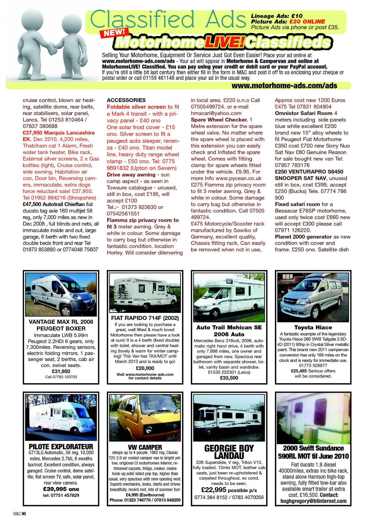 Feb 2013 motorhome campervan calameo downloader page 92 fandeluxe Gallery