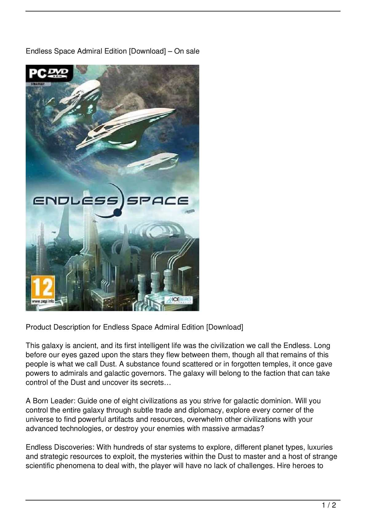 calaméo endless space admiral edition download get rabate