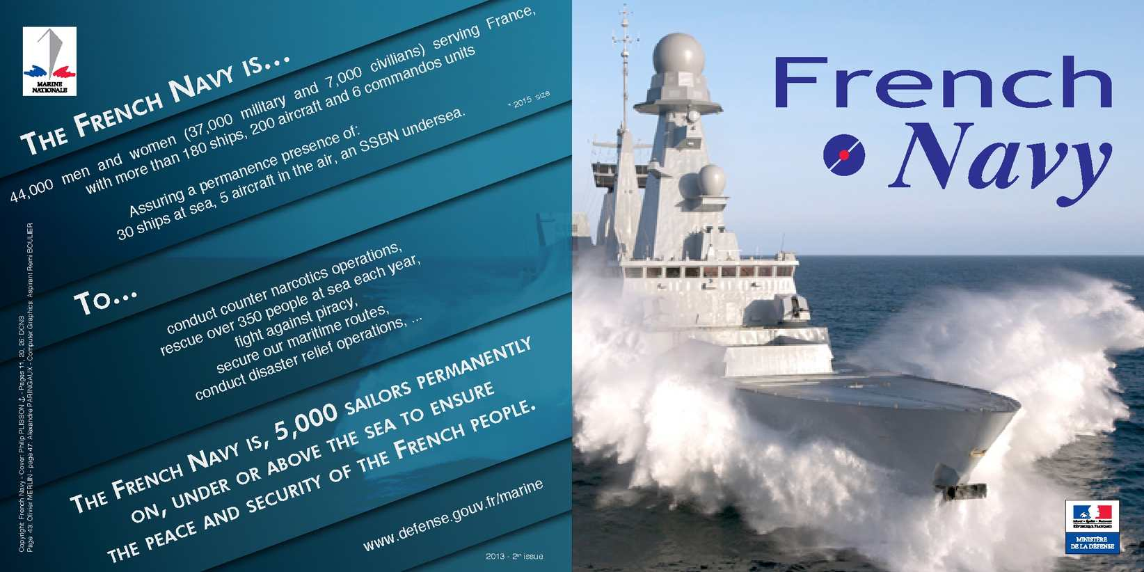 French Navy - Guide book