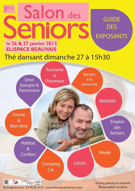 Calam o guide salon des seniors edition 2013 for Salon des seniors