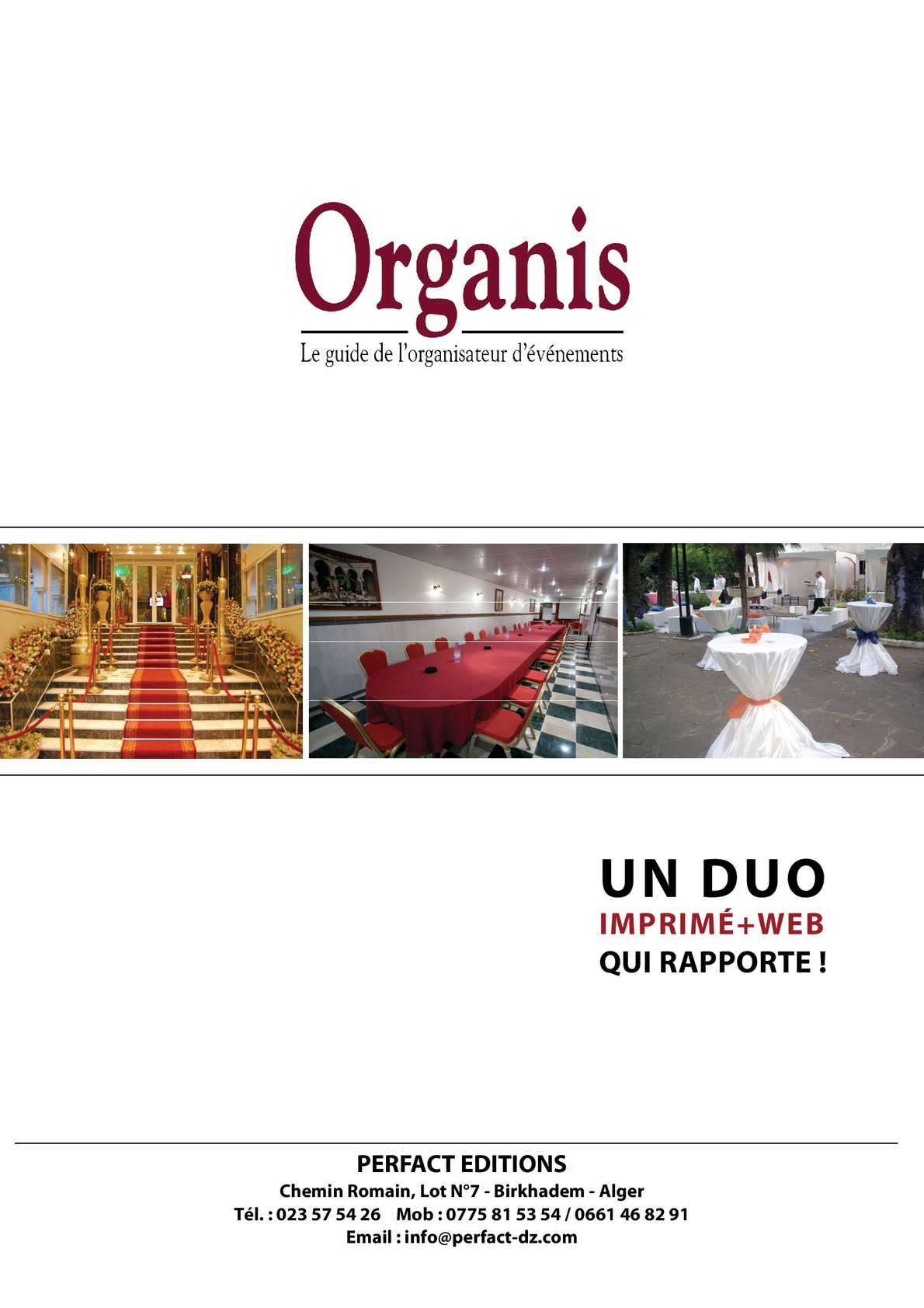 Prospectus Organis