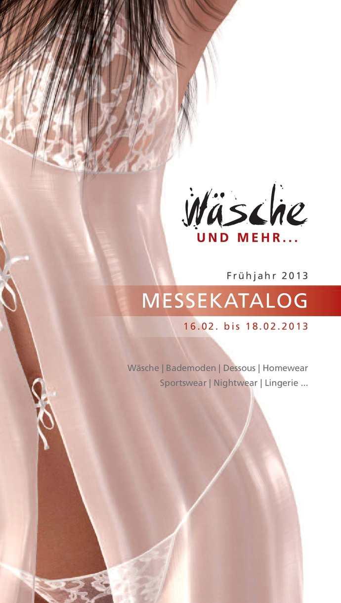 Messekatalog - Wäsche und Mehr... Februar 2013
