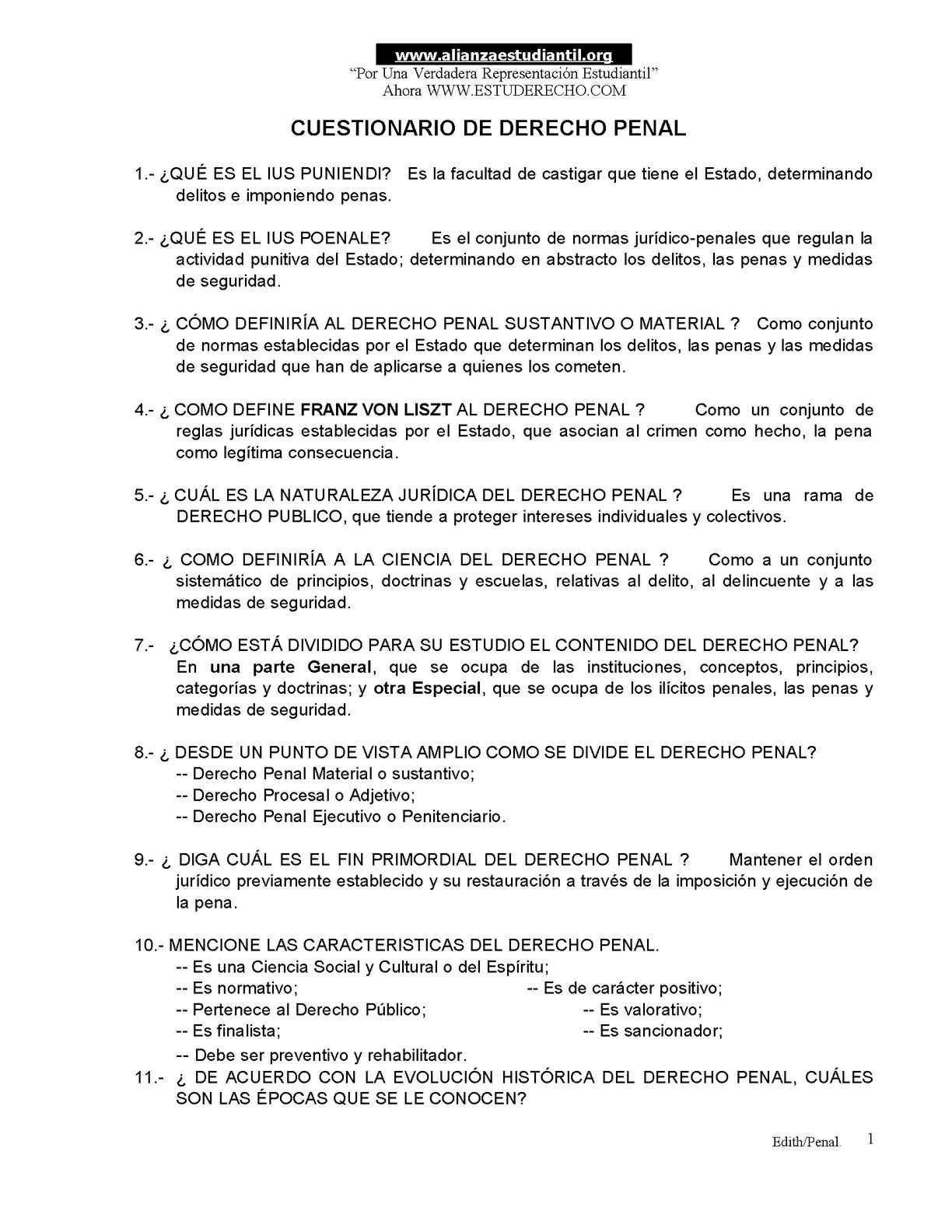 Calaméo - cuestionario derecho_penal1y2