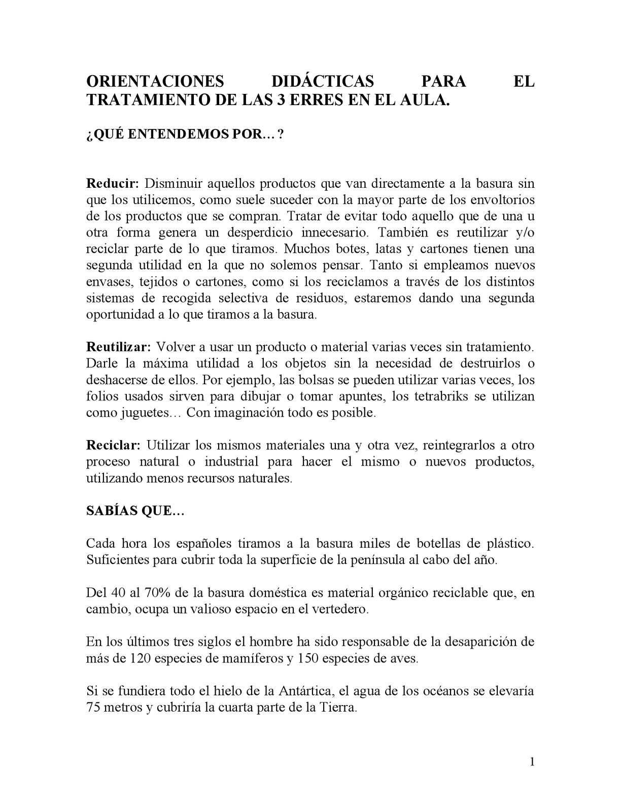 Calaméo - 3 ERRES ECOLÓGICAS (Orientaciones didácticas para trabajar ...