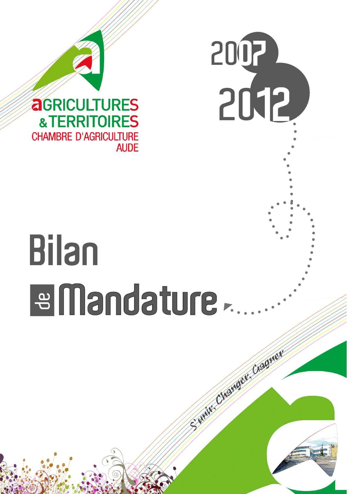 Calam o bilan mandature 2007 2012 - Chambre d agriculture 44 ...