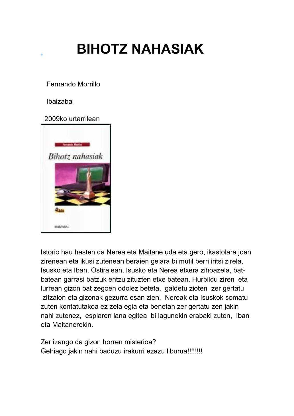 BIHOTZ NAHASIAK PDF