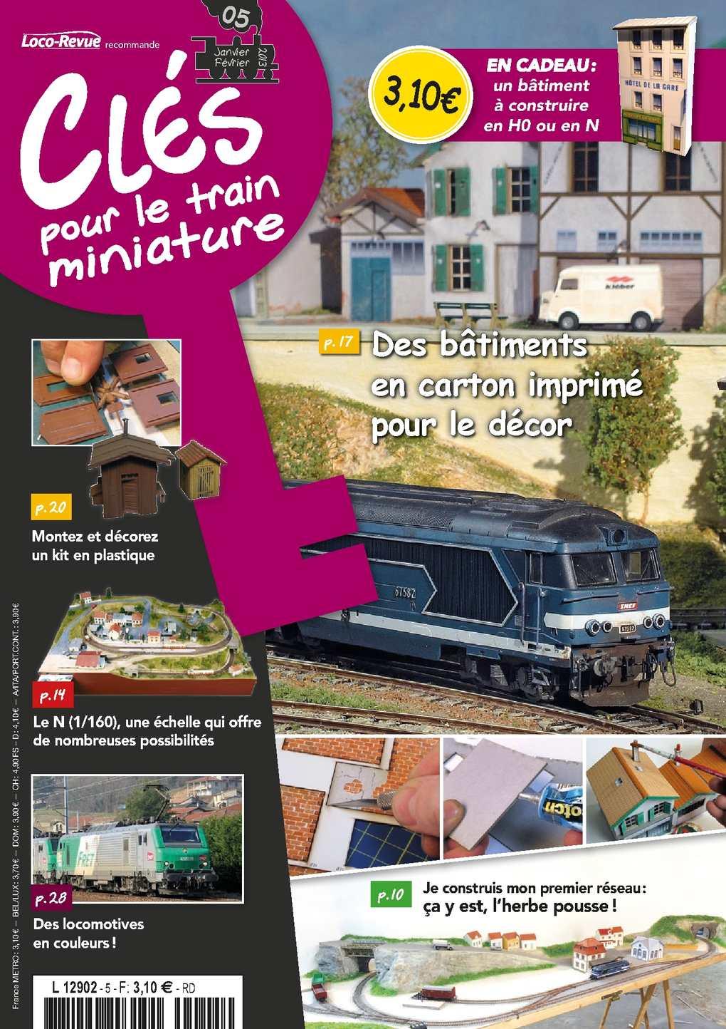 Clés pour le train miniature numéro 5 - 12 pages