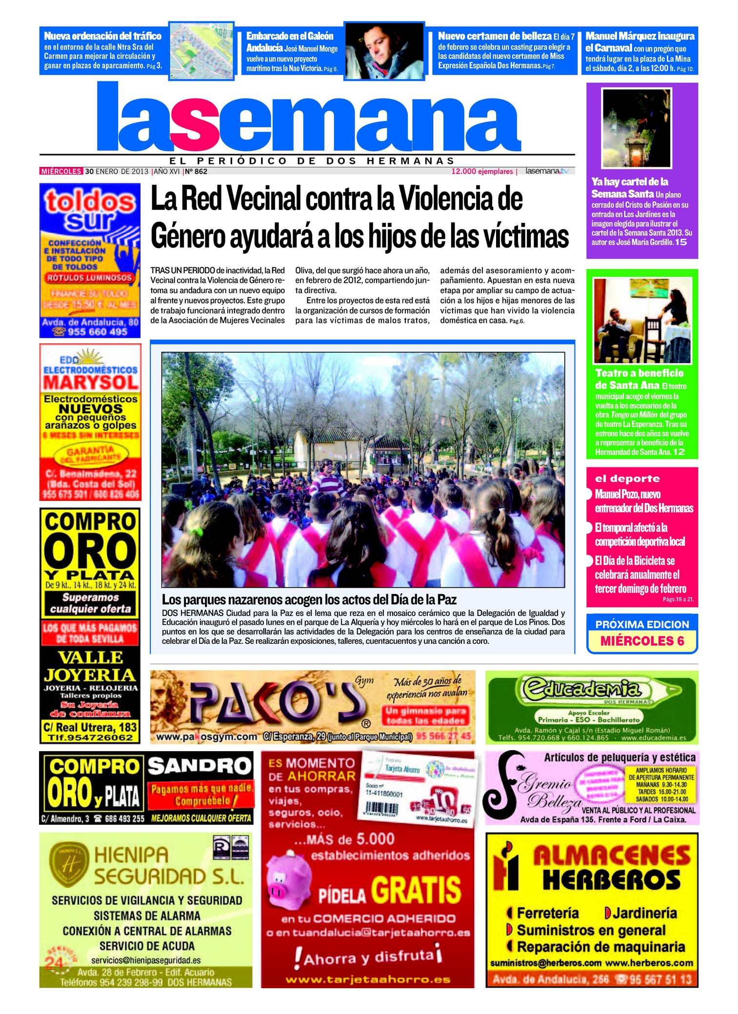 Calaméo - Periódico La Semana de Dos Hermanas Nº 862