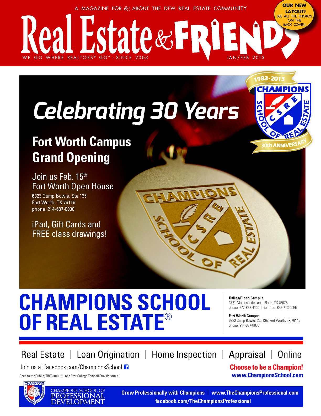 Calaméo Janfeb 2013 Real Estate Friends Magazine