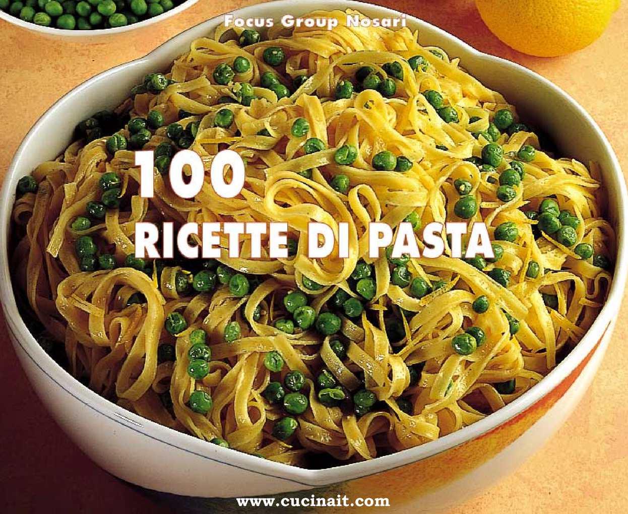 100 ricette pasta