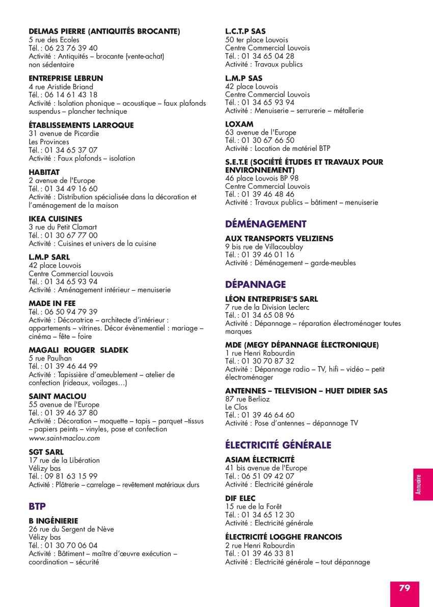 Guide De Velizy 2013 Calameo Downloader # Meubles De Tele Berlioz