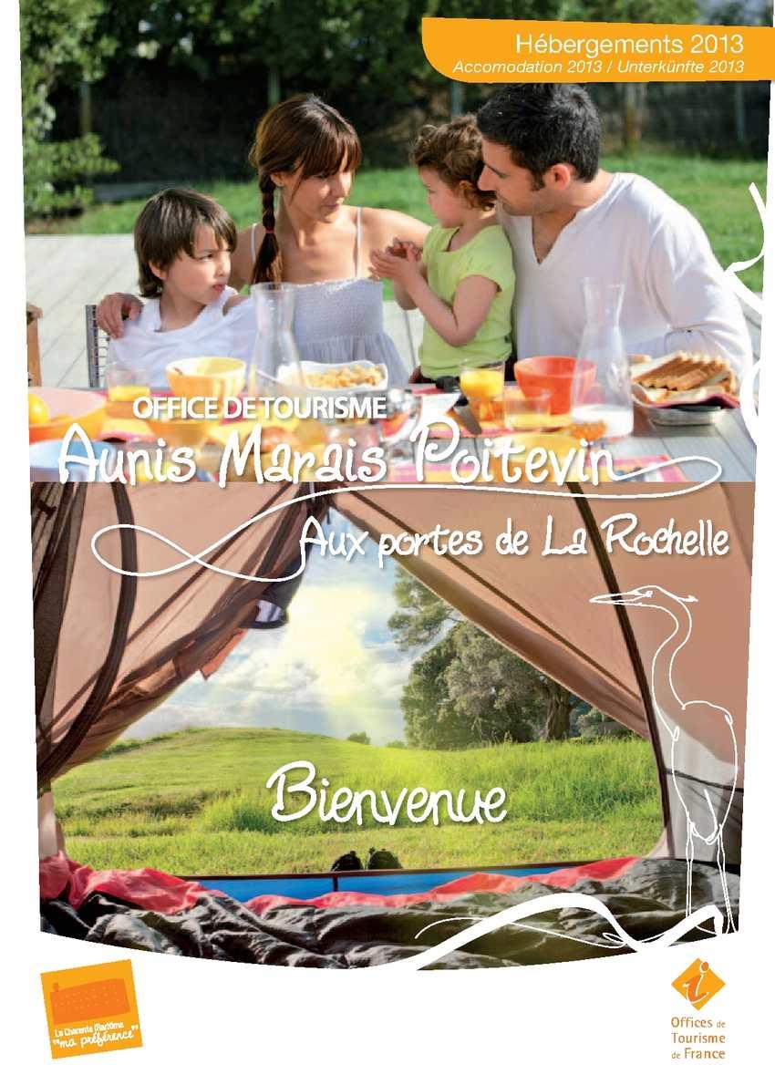 Calam o guide h bergement office du tourisme aunis marais poitevin 2013 - La rochelle office de tourisme ...