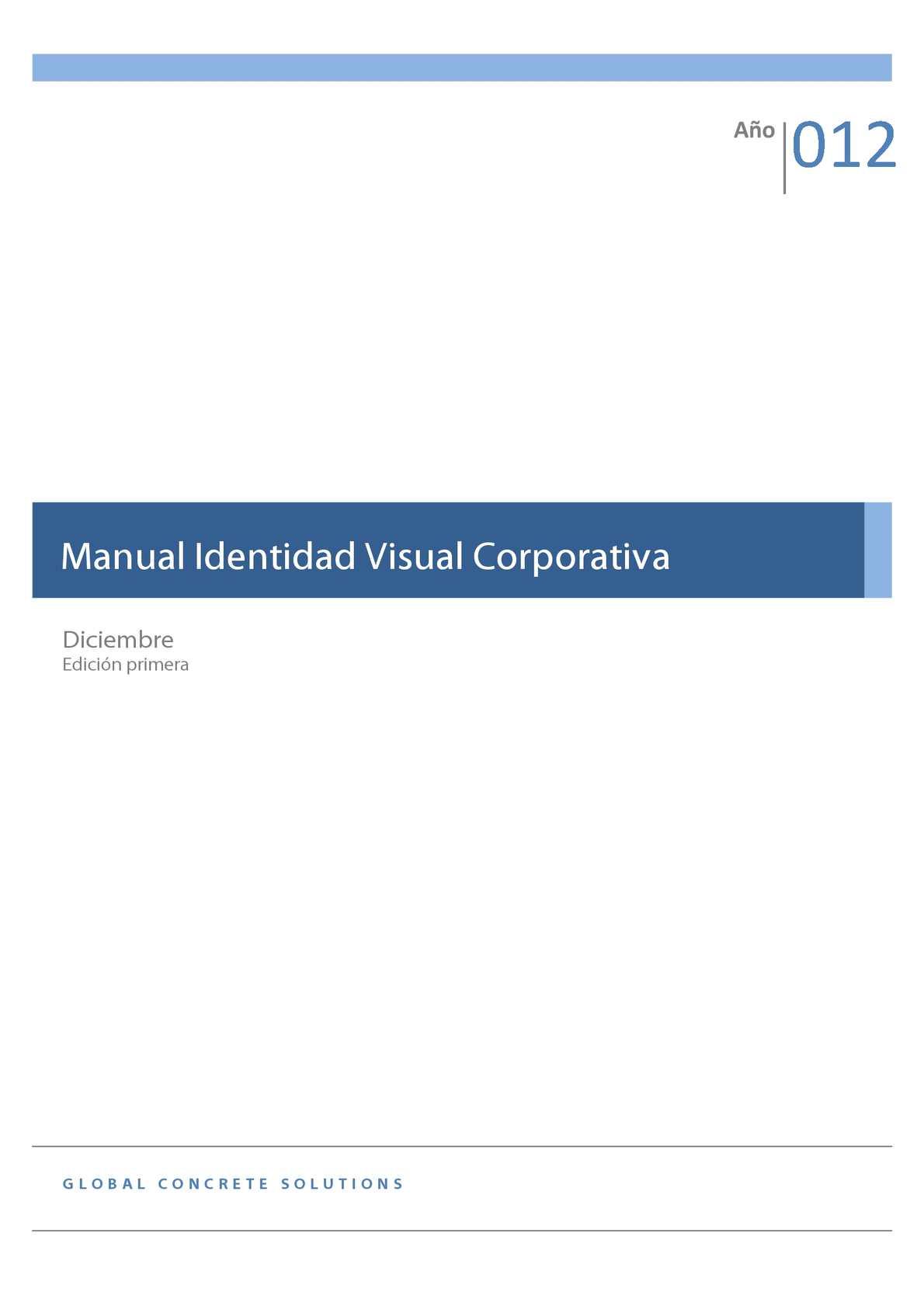 Calaméo - Manual Identidad Visual Corporativa GCS